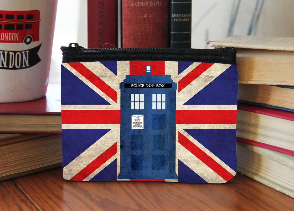 """London"" Neoprene Coin Purse"