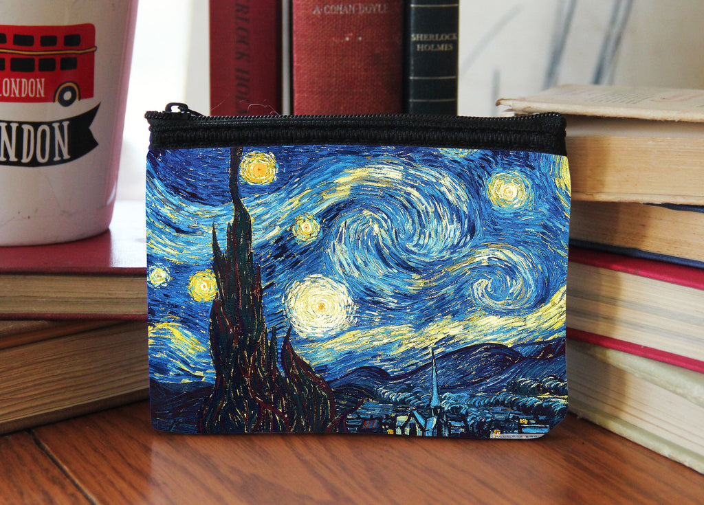 """Starry Night"" Neoprene Coin Purse"