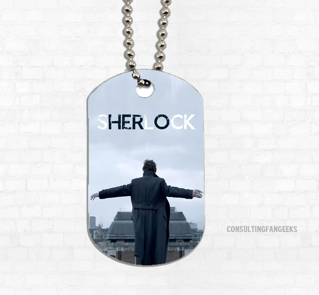 """Hero"" Metal Dog Tag - Consulting Fangeeks"