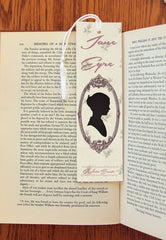 Jane Eyre & Edward Rochester  Double Sided  Felt Bookmark - Consulting Fangeeks - 1