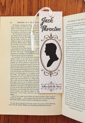 Jack Thornton & Elizabeth Thatcher double sided Felt Bookmark - Consulting Fangeeks - 1