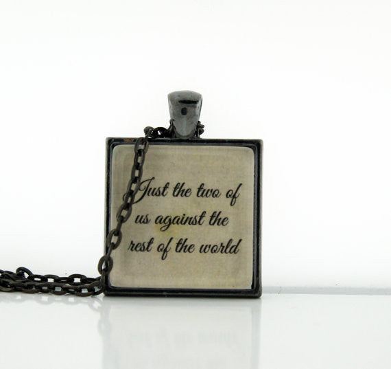 Just The Two of Us Necklace