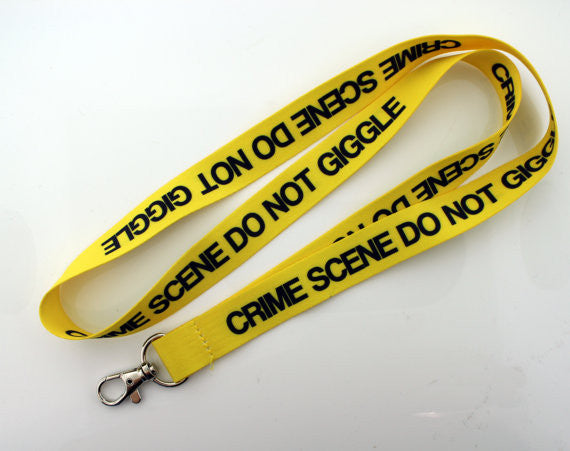 """Don't Giggle"" Lanyard - Consulting Fangeeks"