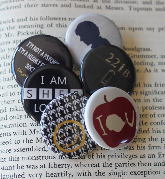 Pinback Button Gift Set