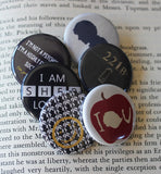Pinback Button Gift Set - Consulting Fangeeks - 1