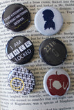 Pinback Button Gift Set - Consulting Fangeeks - 2