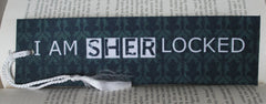 I Am SHERlocked Felt Bookmark - Consulting Fangeeks - 1