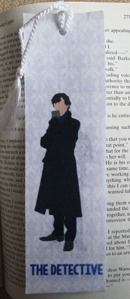 Image result for sherlock bookmark