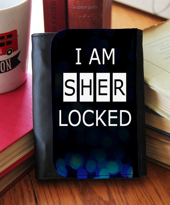 """I Am Sherlocked""  Wallet"