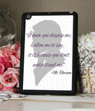North & South Book Quote Mr. Thornton iPad 2,3,4, iPad Mini, Kindle Fire Case - Consulting Fangeeks - 1
