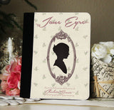 Jane Eyre iPad 2,3,4, iPad Mini, Canvas & Suede Protection Case - Consulting Fangeeks - 1