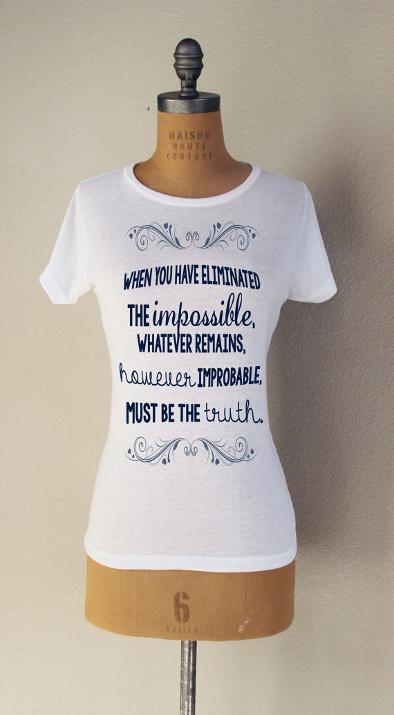"""The Impossible"" Short Sleeved T-Shirt - Consulting Fangeeks - 1"