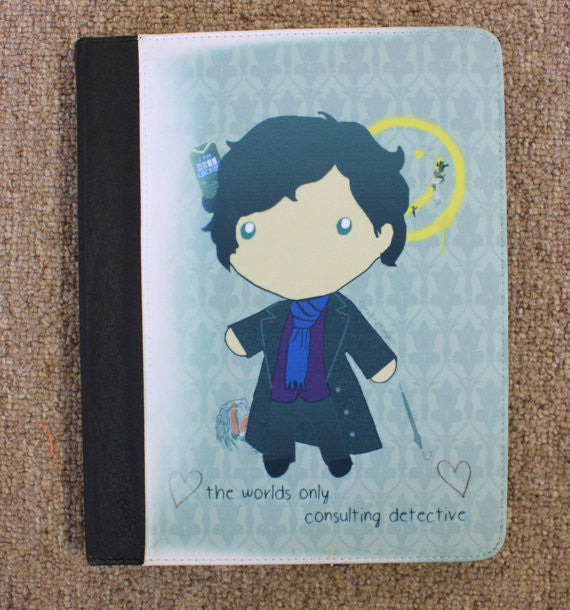 Baby Sherlock iPad 2,3,4, Canvas and Suede Protection Case