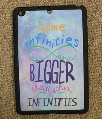 """Some Infinities Are Bigger""  iPad Mini Case - Consulting Fangeeks"