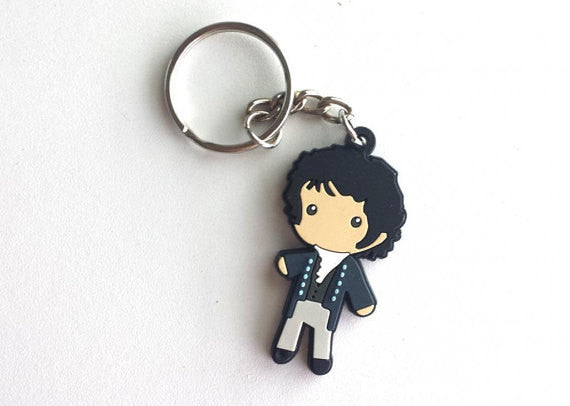 Mr. Darcy Figure Keychain