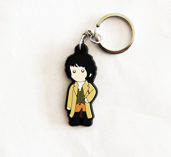 Riding Mr. Darcy Figure Keychain
