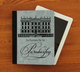 Rather Be at Pemberley iPad 2,3,4, iPad Mini, Canvas and Suede Protection Case - Consulting Fangeeks - 1
