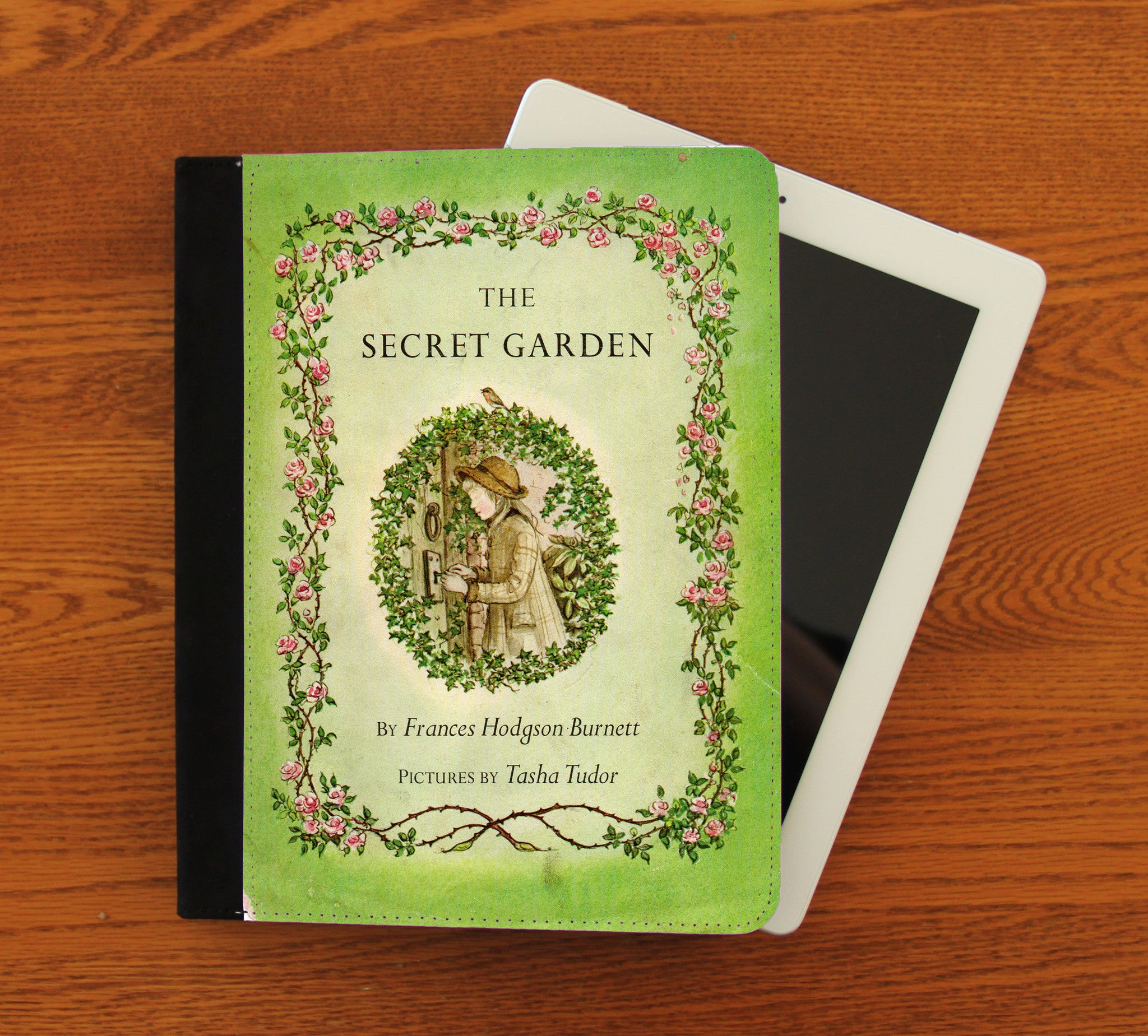 The Secret Garden iPad 2,3,4, iPad Mini, Canvas and Suede Protection Case - Consulting Fangeeks - 1