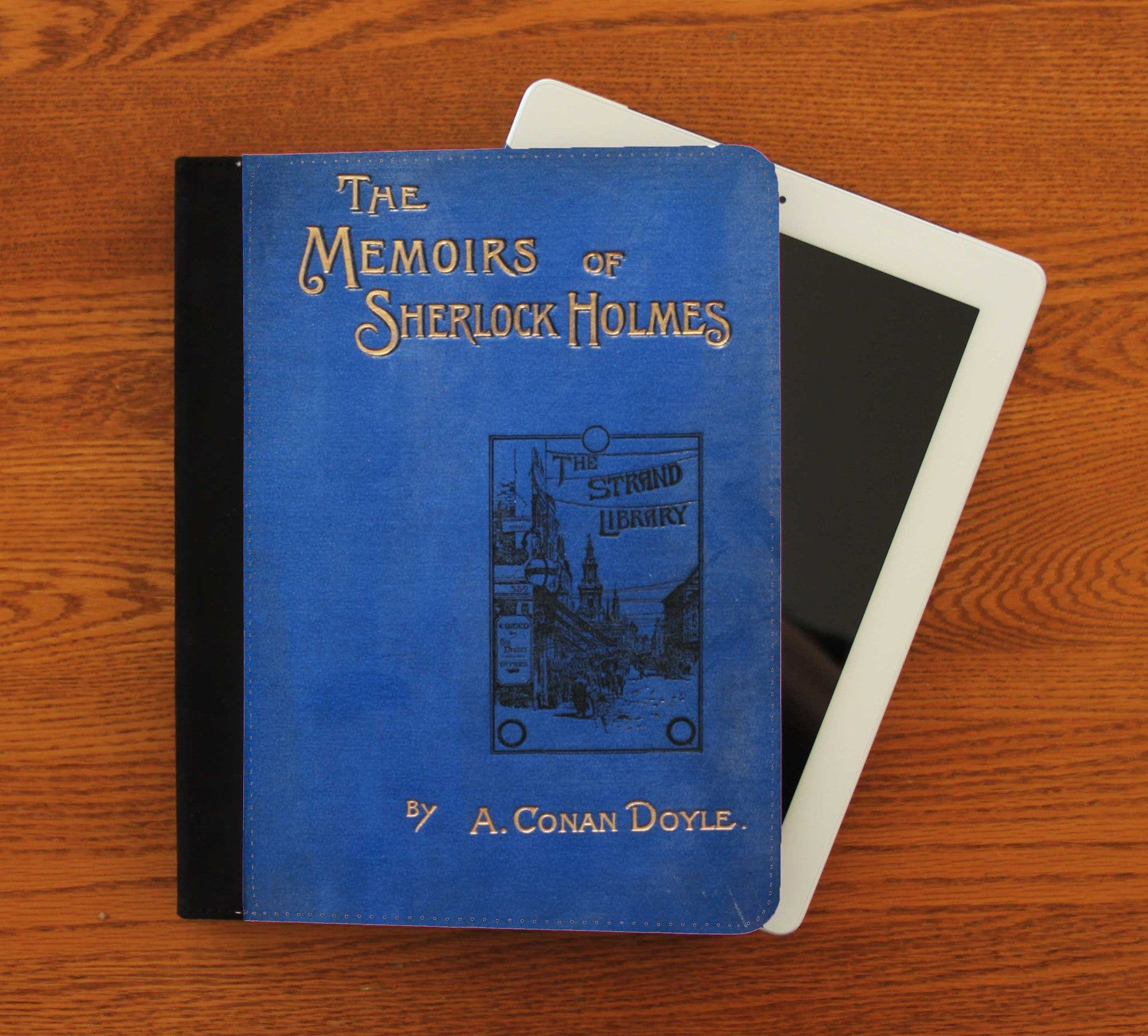 Memoirs of Sherlock Holmes iPad 2,3,4, iPad Mini, Canvas and Suede Protection Case - Consulting Fangeeks - 1