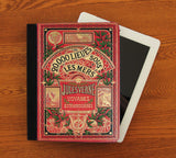 20,000 Leagues Under the Sea French iPad 2,3,4, iPad Mini, Canvas and Suede Protection Case - Consulting Fangeeks - 1