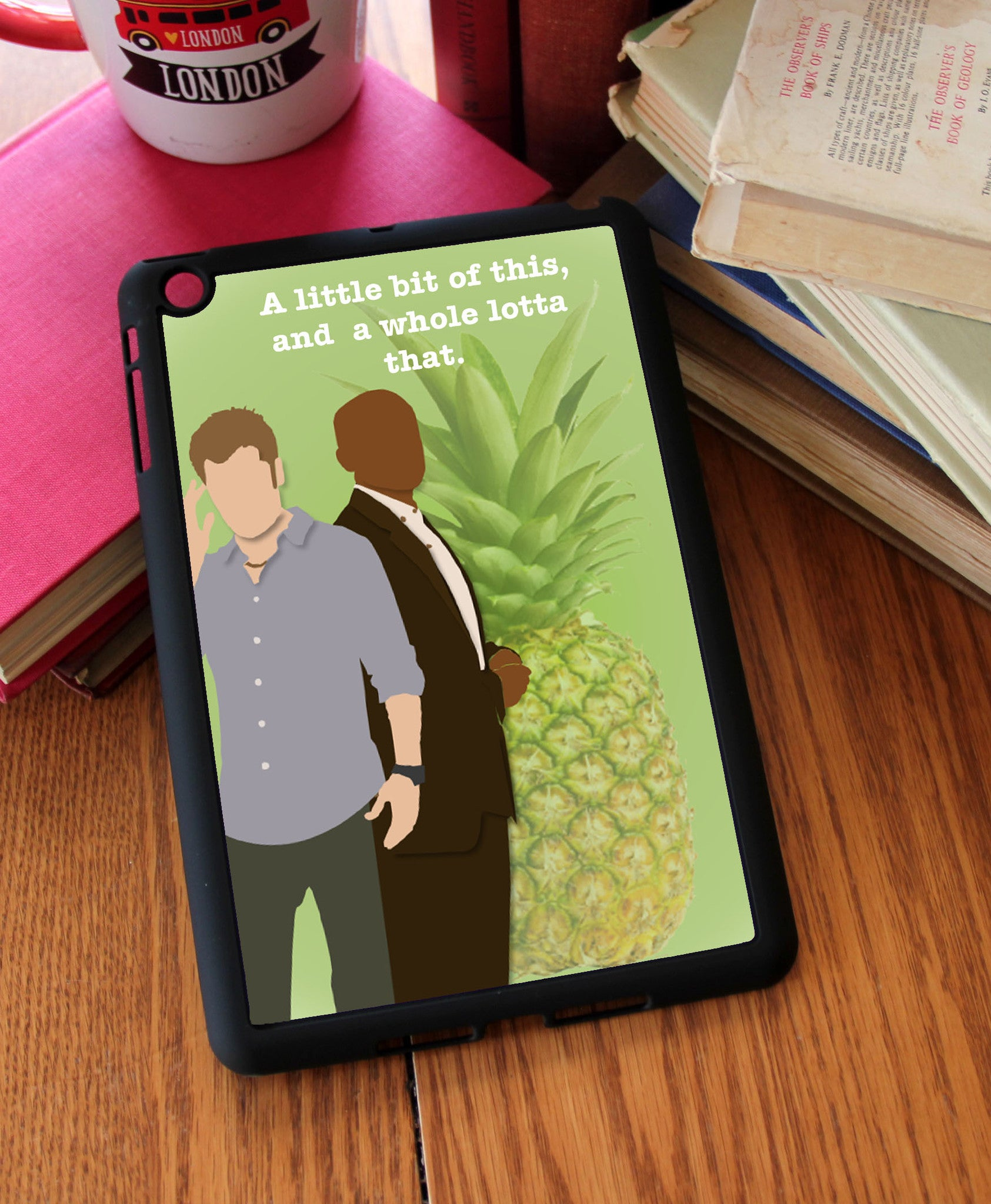 """A Little Bit of This"" iPad 2,3,4, iPad Mini, Kindle Fire Case - Consulting Fangeeks - 1"
