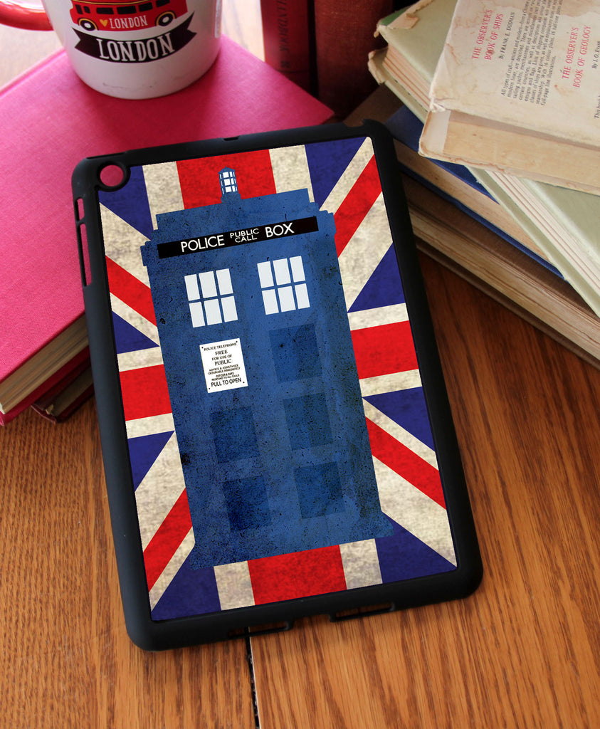 """Blue Box in London"" iPad 2,3,4, iPad Mini, Kindle Fire Case"
