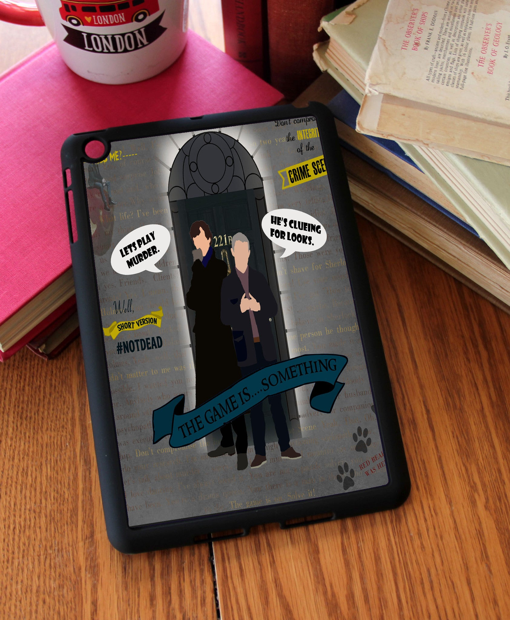 """The Game is...Something"" iPad 2,3,4, iPad Mini, Kindle Fire Case - Consulting Fangeeks - 1"