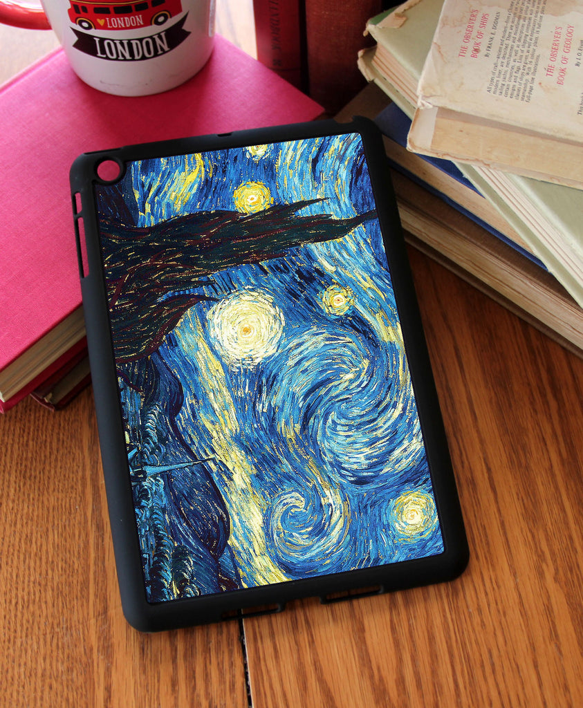 Starry Night Vincent Van Gogh iPad 2,3,4, iPad Mini, Kindle Fire Case