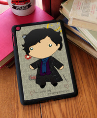 """Baby Sherlock"" iPad 2,3,4, iPad Mini, Kindle Fire Case - Consulting Fangeeks - 1"