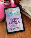"""Some Infinities Are Bigger""  iPad 2,3,4, iPad Mini, Kindle Fire Case - Consulting Fangeeks - 1"