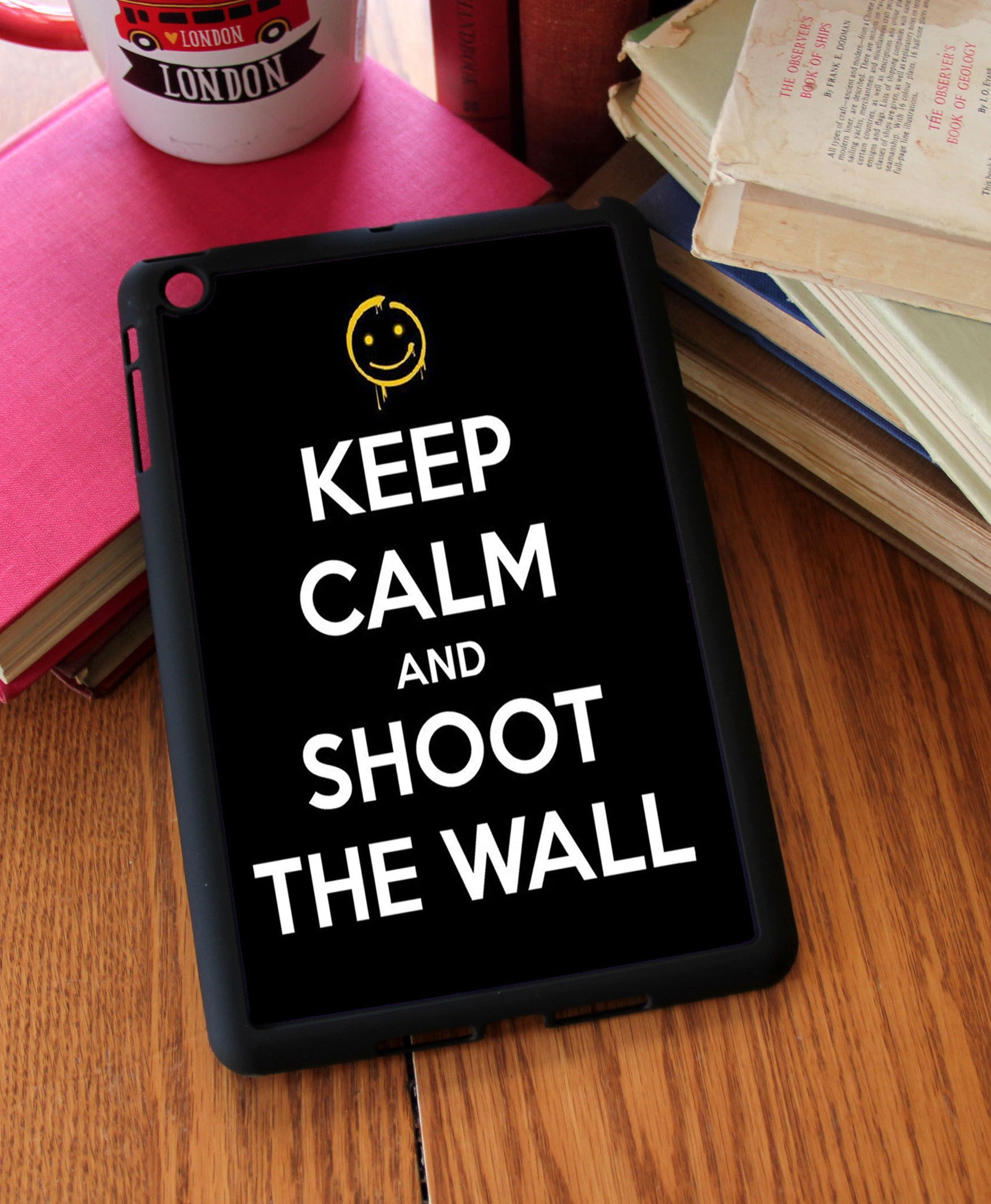 """Keep Calm"" iPad 2,3,4, iPad Mini, Kindle Fire Case - Consulting Fangeeks - 1"