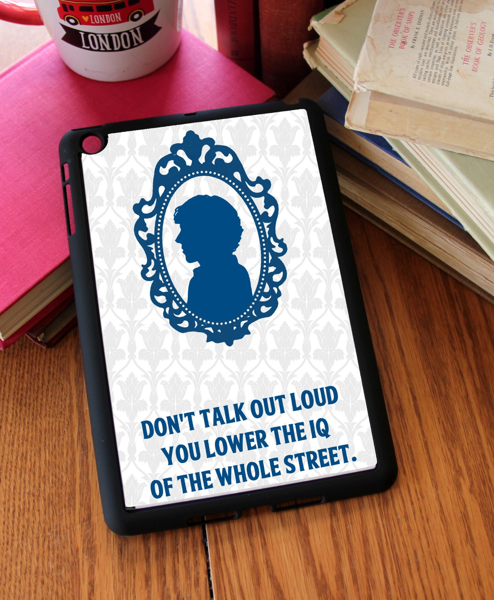 """You Lower The IQ"" iPad 2,3,4, iPad Mini, Kindle Fire Case - Consulting Fangeeks - 1"