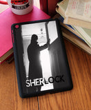 """Sherlock Silhouette"" iPad 2,3,4, iPad Mini, Kindle Fire Case - Consulting Fangeeks - 1"