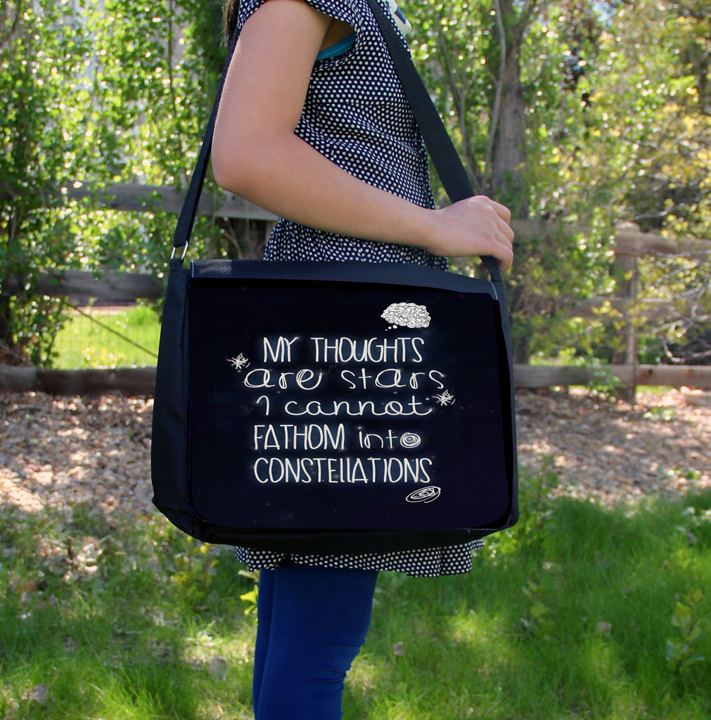 """My Thoughts"" Laptop Bag"