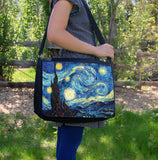 """Starry Night"" Laptop Bag - Consulting Fangeeks - 1"