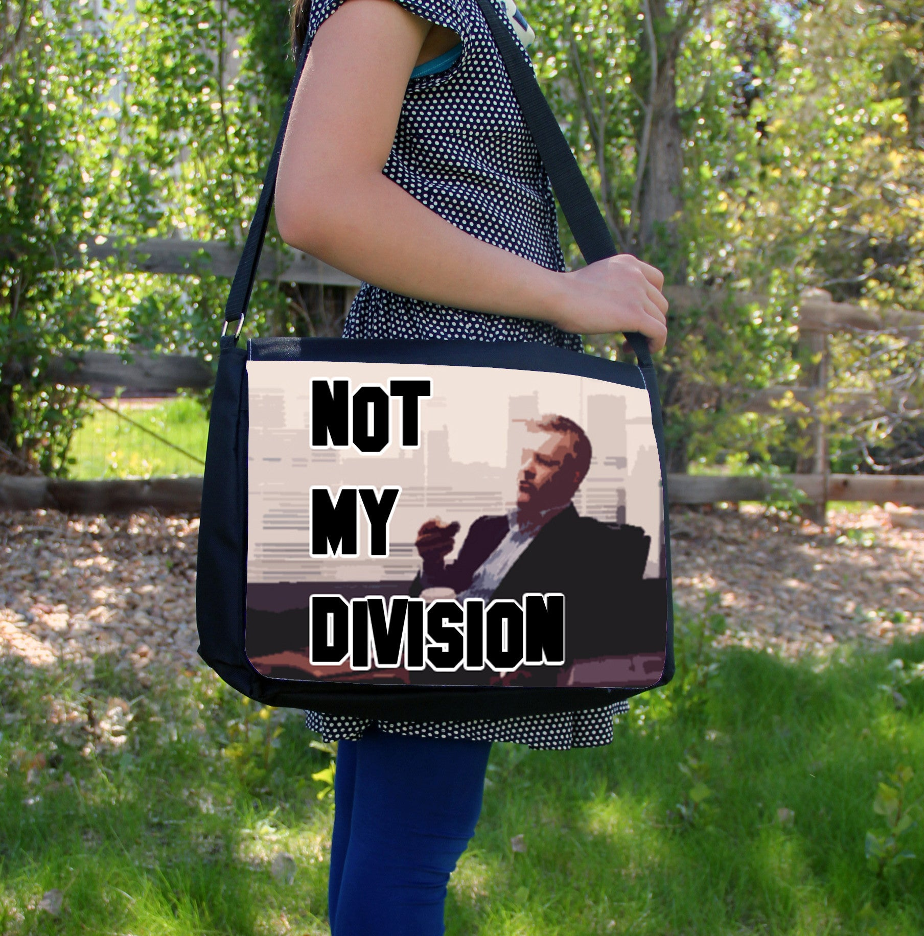 """Not My Division"" Laptop Bag - Consulting Fangeeks - 1"
