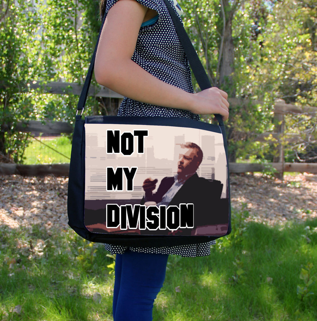 """Not My Division"" Laptop Bag"