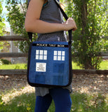 Police Box Messenger Bag - Consulting Fangeeks - 3