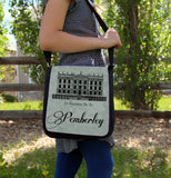 Rather Be at Pemberley Messenger Bag - Consulting Fangeeks - 3