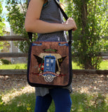 Crest of the Fandoms Messenger Bag - Consulting Fangeeks - 3