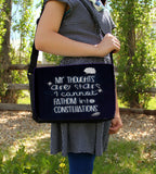 My Thoughts Messenger Bag - Consulting Fangeeks - 2