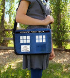 Police Box Messenger Bag - Consulting Fangeeks - 2