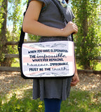 The Impossible Messenger Bag - Consulting Fangeeks - 2