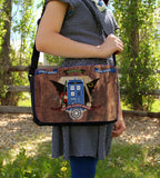 Crest of the Fandoms Messenger Bag - Consulting Fangeeks - 2