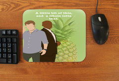 """A Little Bit of This"" Mousepad - Consulting Fangeeks"