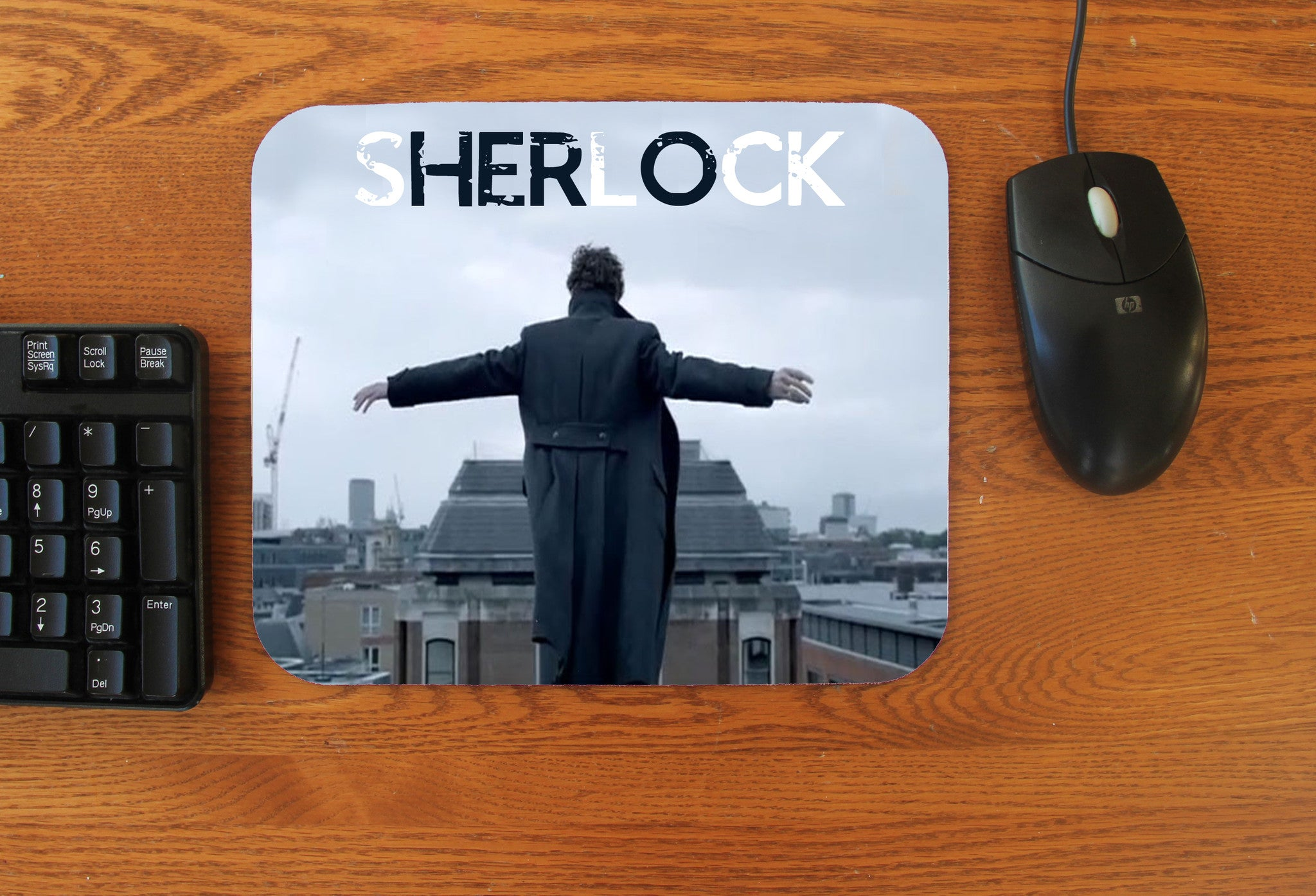 """Reichenbach Feels"" Mousepad - Consulting Fangeeks"