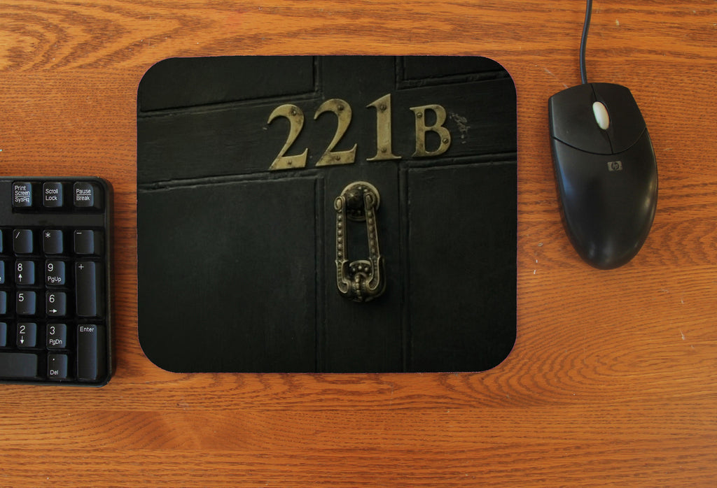 """221B Door"" Mousepad"