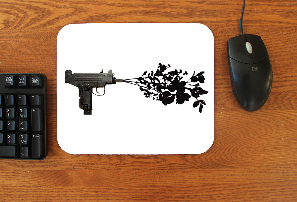 """Uzi Flower"" Mousepad"