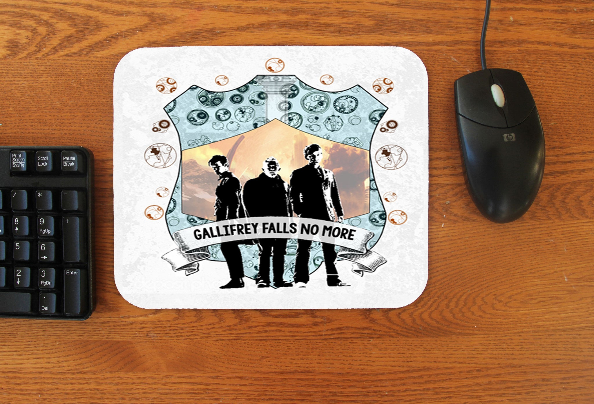 """Gallifrey Falls"" Mousepad - Consulting Fangeeks"