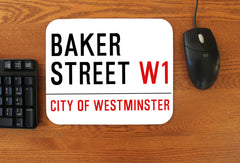 """Baker Street"" Mousepad - Consulting Fangeeks"